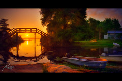Blue Cypress Lake Pontoon Boat Photo Outing (Captain Kimo) Tags: digital photoshop florida highdynamicrange osprey hdri bassfishing photomatix hdrphotography singleexposurehdr hdrphotos bluecypresslake topazadjust