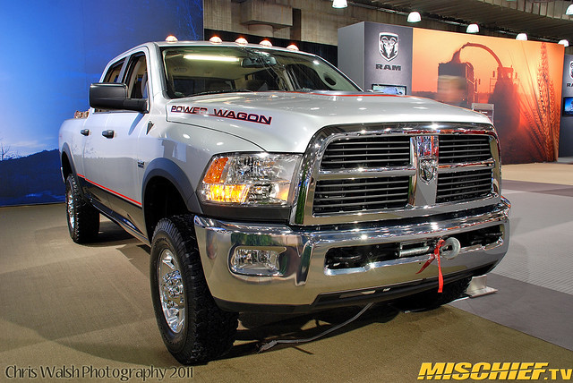 auto show new york wagon power international dodge ram mischief nyias mischieftv