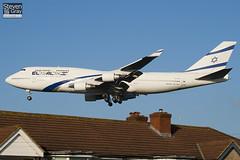 4X-ELB - 26056 - El Al Israel Airlines - Boeing 747-458 - 101205 - Heathrow - Steven Gray - IMG_5450