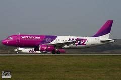 HA-LPF - 1834 - Wizzair - Airbus A320-232 - Luton - 110328 - Steven Gray - IMG_3243