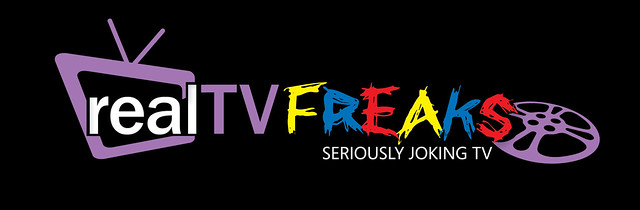 RealTvFREAKS Logo Black