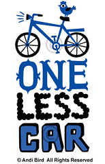 One Less Car graphic (birdarts) Tags: green bike bicycling bikes environmental bicycles transportation onelesscar mountainbiking vectors doodling handlettering sharetheroad clunker burningrubber fattires mountainbikes savetheplanet cheapgas printedtshirt handdrawntype begreen savegas tshirtgraphics handdrawnfonts biketshirt saveacar savegastshirt
