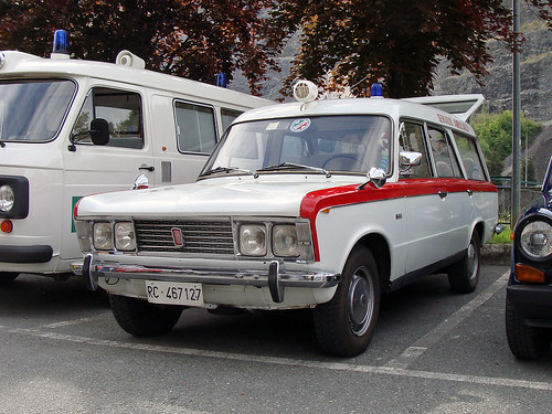Fiat 125 Ambulanza by Fissore