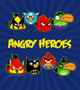 Angry Birds Parody - Angry Heroes (olechka_wa) Tags: girls baby game cute men art boys shirt comics design dc hoodie cool women funny geek adult lol flash humor cartoon spiderman tshirt superman hoody hero batman videogame parody heroes bluebird superheroes hulk marvel greenlantern captainamerica addict wolverine nerdy iphone redbird ipad yellowbird olechka angrybirds olgashvartsur angrybirdsshirt angryheroes angrybirdskidsshirt greenboomerangbird angrybirdshoodie
