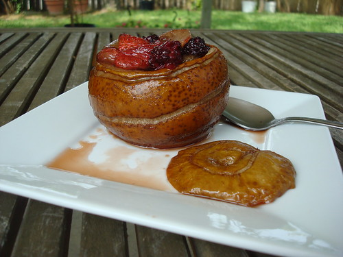 Roasted Fruit Cup