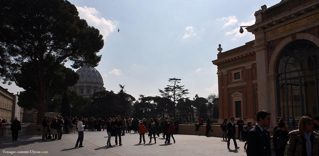 Les musées sont tout proches de la basilique Saint-Pierre