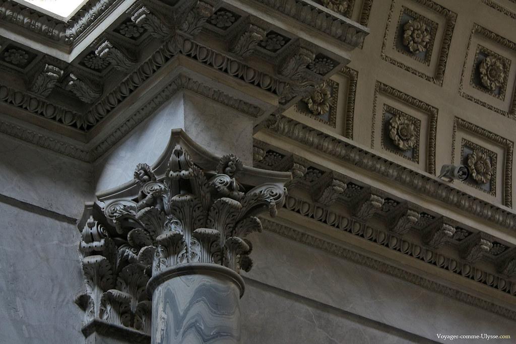 Chapiteau corinthien du Braccio Nuovo