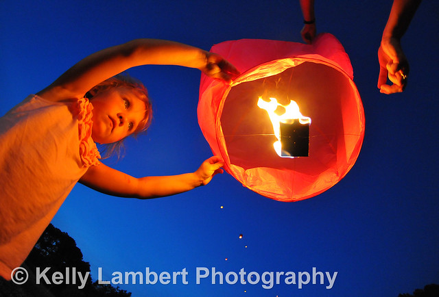 Sky Lantern Lighting