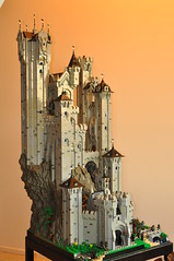 Eaglecrest Keep 4 (CheesySlopes) Tags: roof cliff black tower castle classic rock stone wall tile landscape lego eagle fort medieval crest falcon keep knight middle fortress ages turret slope falcons burp moc eaglecrest 6074 10039