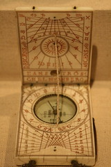 Sundial, Portable Diptych (BrassIvyDesigns) Tags: old art history clock archaeology calendar time dial medieval sphere hour zodiac artifact metropolitanmuseum anthropology astronomical steampunk astrolab ecliptic