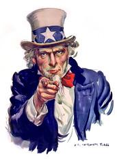 Uncle Sam I Want You - Poster Illustration (DonkeyHotey) Tags: art illustration photomanipulation photoshop poster photo manipulation clip worldwarii clipart flagg commentary unclesam politicalart iwantyou politicalcommentary jamesmontgomeryflagg unclesamwantsyou iwantyouforusarmy armyposter donkeyhotey