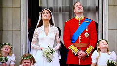 Royal Wedding (Lilla~Rose) Tags: wedding tiara london canon mall bride kiss veil kate lace balcony royal william panasonic bridesmaids buckinghampalace bouquet satin monarchy thekiss raf princewilliam royalfamily royalwedding the flypast britishroyalfamily pageboys katemiddleton theroyalwedding williamandkate catherinemiddleton dukeandduchessofcambridge royalweddingcelebrations