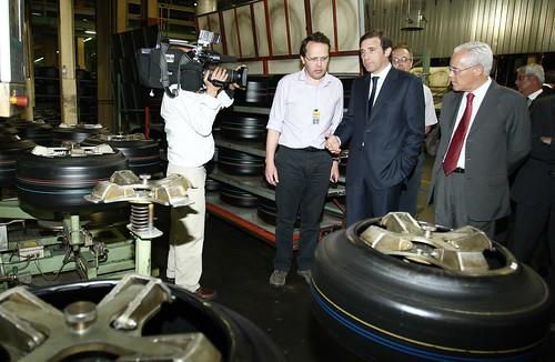 Visita à fabrica de Pneus Continental em V N Famalicão