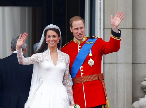 Image of William and Kate - Royal Wedding Pictures
