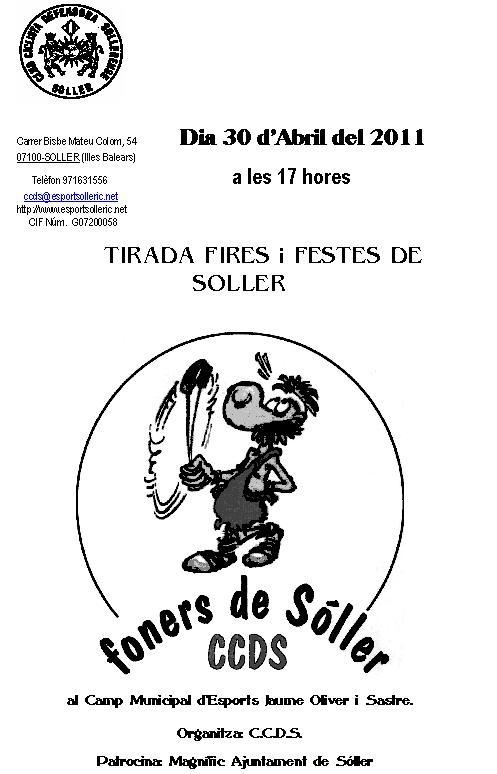 Programa Tirada Fires i Festes 2011