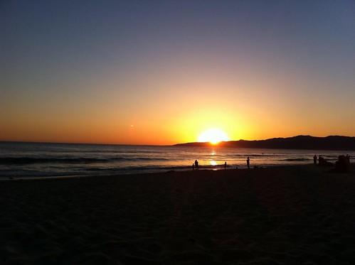 4-11-2011 Venice Beach Sunset