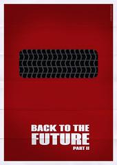 Back to the Future II (Franco Mathson) Tags: art illustration photoshop movie poster design back arte future filme minimalism delorean ilustrao cartaz minimalist minimalista