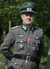 German Officer (messy_beast) Tags: wwii secondworldwar walthamabbey livinghistory veday gunpowdermills