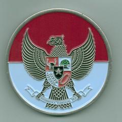 Marine Challenge Coin Jakarta Indonesia - obverse
