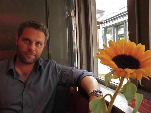 Algis at Netherlands Pub