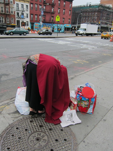 NYC. Garbage Picker. by Making Deals Zine