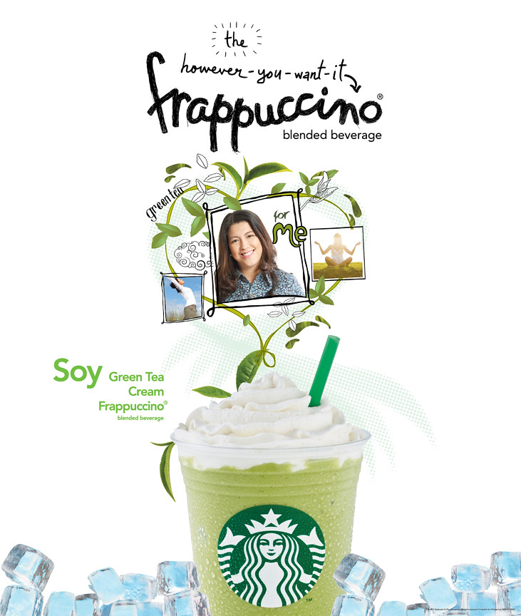 Soy Green Tea Cream Frappuccino