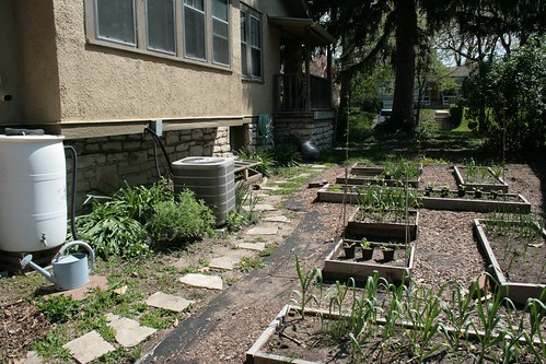 Vegetable Garden, West Side