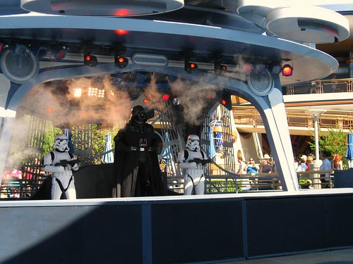 Arrival of Darth Vader
