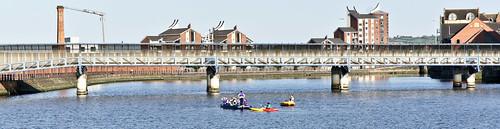 Belfast - Boating On The Lagan