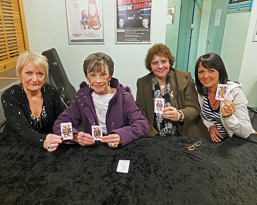 Philomena Begley, Billie Jo Spears, Lena Martell, Janey Kirk supporting Great Ormond Street Hospital with Starcards