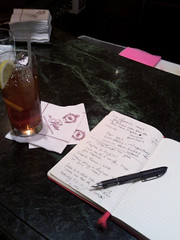 Iced Tea and Writing