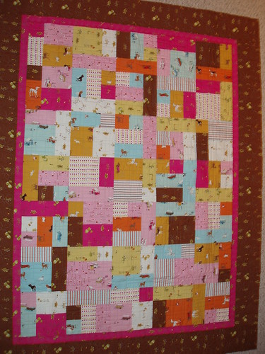 Heather Ross Lightning bug quilt