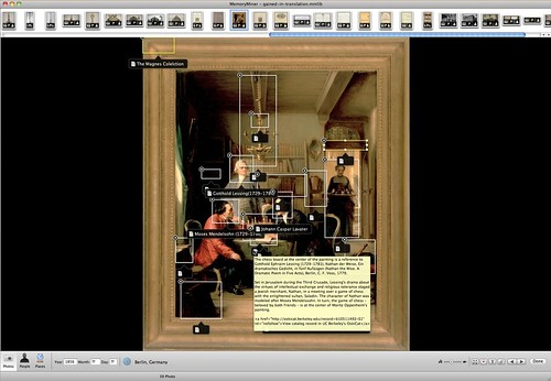MemoryMiner::Annotated Image View of Oppenheim Painting
