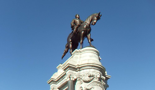 From flickr.com: 3D Monument Avenue General Robert E. Lee {MID-153741}