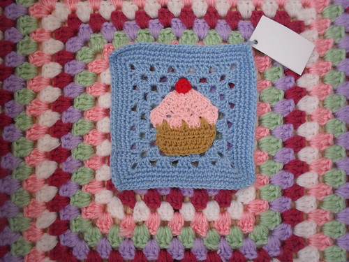 Another beautiful 'Cupcake' Square for our Challenge.