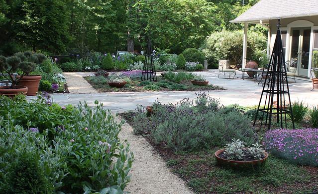 Greenwood garden, cool palette