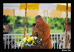 Exhibition of The Jade Buddha for Universal Peace 1 (k_ta19468) Tags: for nikon vietnamese peace pennsylvania buddha praying monk exhibition telford jade universal nikkor f28 afs 70200mm d700
