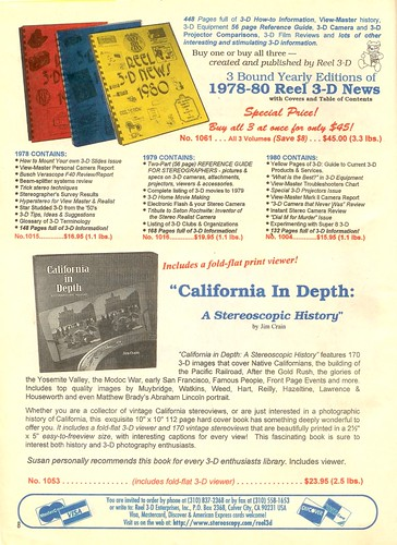 Books about Stereo (3-D) Photography