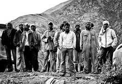 Road construction workers, Higher Himalayas, India (Sid Verma) Tags: road india workers construction nikon highway leh manali himalayas ladakh d90