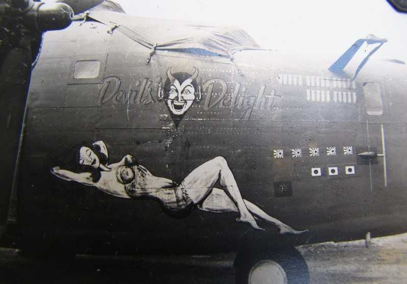 SB-24 'Snooper' Liberator 868th Bomb Squadron 43rd Bomb Group 13th Air Force