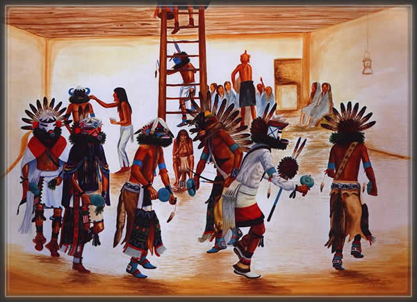 Kachina,Dance,Hopi