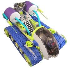 Prowler (Soundwave_sw) Tags: new green star starwars tank purple lego turquoise space modular hunter wars lime bounty prowler fett crawler 2011 jengo missles treaded