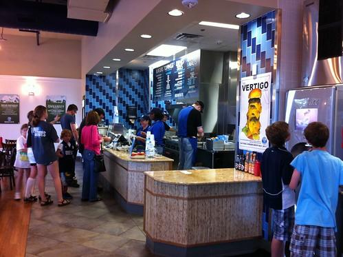 Inside Elevation Burger
