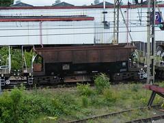 980062 Bescot 140511 (Dan86401) Tags: wagon br infrastructure hopper engineers ballast export seacow departmental 980 civilengineer ygb bescot fishkind 6z92 980062