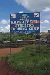 Kapsait Training Camp, Cherangani Highway