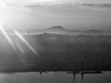 Landing gear down... (supertsaar) Tags: barcelona smog bcn montserrat flare collserola eixample colserola olympustough st6000