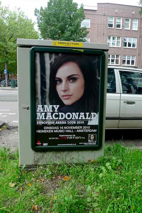 publicidad en un cartel