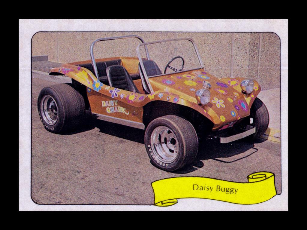 """Fleer """"Kustom Car"""" Sticker, 1975"""