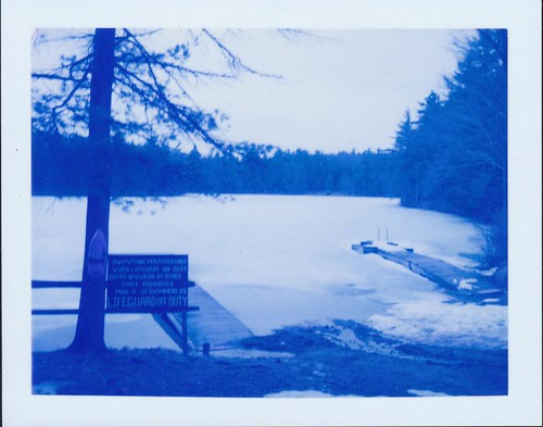Nº 100 of 365 days of film: Frozen Dock by Penlington Manor