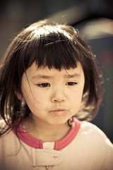 fussy (pmac1985) Tags: china friends summer portrait people baby beautiful smile kids children happy bigeyes nikon pretty dof bokeh daughter chinese 85mm 85 2years 14g xuixui d700 85mm14g